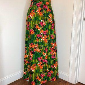 UNIQUE Button Up High Waist Skirt Size Small